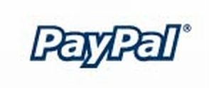 paypal-logo, for secure UK payments.